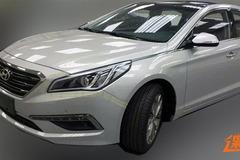 新索纳塔广州车展首发 预计明年上市