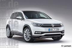 德系全新紧凑级SUV前瞻 全新途观领衔