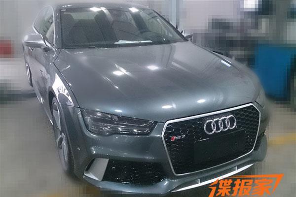 曝新款奥迪RS 7国内实车 增LED大灯