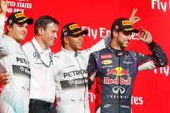 F1美国站回顾:汉密尔顿力压队友夺冠