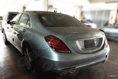 奔驰S 400 L实车曝光 或广州车展发布