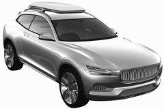 沃尔沃XC Coupe专利图 量产版明年发布