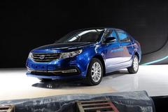 2014广州车展:新款吉利远景5.39万起