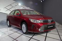 广州车展首发中型车 新款凯美瑞领衔