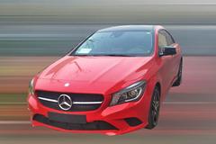 奔驰CLA低配版谍照 有望2015年上市