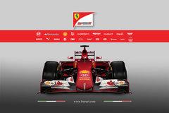 法拉利发布2015款F1赛车 命名SF-15T