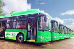 第二批金龙新能源公交车交付泸州