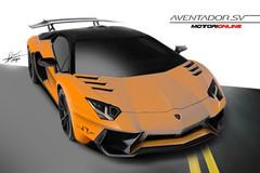 曝兰博基尼Aventador SV终极版预告图