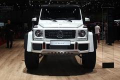 2015日内瓦车展:奔驰G500 4x4²概念车