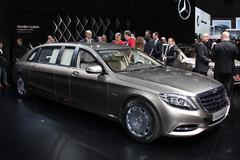 2015日内瓦车展:迈巴赫S600 Pullman