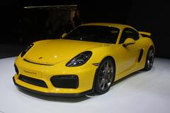 2015日内瓦车展:保时捷Cayman GT4