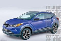 丰田全新紧凑SUV效果图 尺寸小于RAV4