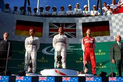 F1澳大利亚站:汉密尔顿迎来完美开局