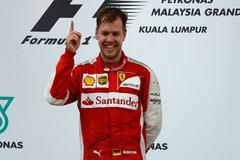 F1马来西亚站:维特尔夺冠 奔驰二三