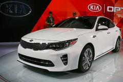 2015纽约车展:起亚新一代K5正式发布