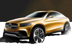 奔驰GLC Coupe概念车将上海车展首发