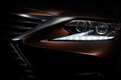 雷克萨斯新ES预告图发布 上海车展首发
