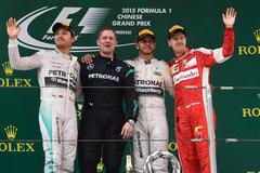 F1中国站落幕:汉密尔顿夺赛季第二冠
