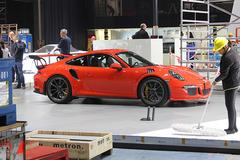 上海车展探馆:全新保时捷911 GT3 RS
