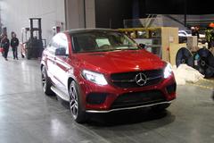上海车展探馆:奔驰GLE Coupe 450