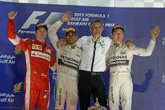 F1巴林站回顾:汉密尔顿夺赛季第三冠