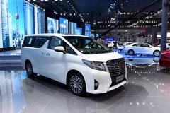 2015上海车展:丰田新一代埃尔法发布