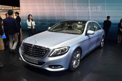 2015上海车展:奔驰S 500 e L正式亮相