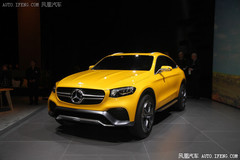 奔驰将量产GLC Coupe 最快2016年亮相