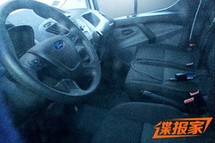 曝福特Tourneo内饰谍照 将于明年上市