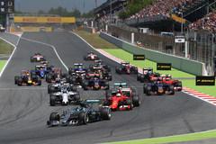一周赛事回顾:F1西班牙站罗斯伯格夺冠