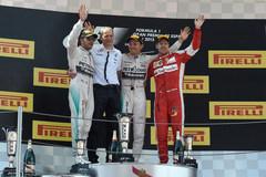 F1西班牙站:罗斯伯格夺冠 红牛失意