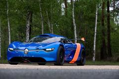 雷诺Alpine概念车将推出 下月登陆勒芒