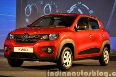 雷诺新小型SUV Kwid发布 搭0.8L发动机