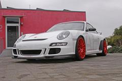 曝全新911 GT3谍照 动力提升重量减轻