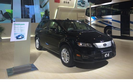 比亚迪商用车再战电动车技术展示交易会高清图片