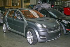 Smart官方:目前尚无推出小型SUV的计划