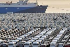 天津港保税区上半年进口车数量下滑明显