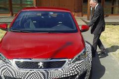 曝标致308 R Hybrid测试照 动力提升