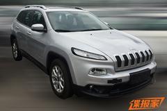 国产Jeep自由光无伪谍照 或11月上市