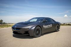 宝马i8推氢燃料电池版 或达242马力