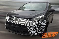 北汽绅宝X25最新谍照曝光 内饰造型时尚