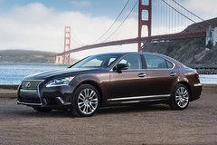 全新雷克萨斯LS将配增压 北美车展发布