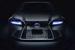 雷克萨斯全新LS预告图 东京车展发布