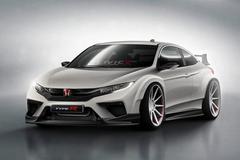 全新本田思域Type R Coupe假想图曝光