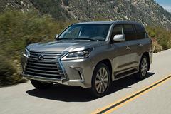 一周新车:雷克萨斯新LX将于10月引入