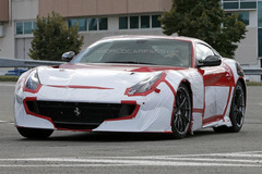 法拉利F12 Speciale/GTO谍照 9月亮相