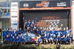 一周赛事回顾:奥吉尔卫冕WRC年度冠军