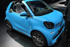 2015法兰克福车展:smart fortwo敞篷版