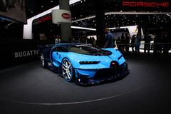 法兰克福车展:布加迪新概念车发布