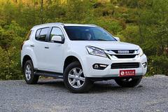 五十铃mu-X新增五款车型 售18.88万起